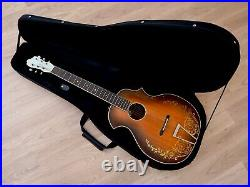 1930s Kay Kraft Style A Venetian Vintage Archtop Acoustic Guitar with Case