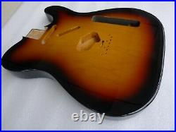 2pcs North American Center Join Alder Guitar Body Vintage Style 3TS Max. 2.09kg
