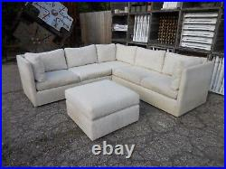 60's Vintage 3pc Sectional Sofa by Westwood Mid Century Modern Probber Style/Era