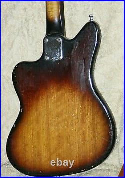 60's Vintage'RODEO' ELECTRIC GUITAR-by Teisco, Japan 1961 -Jazzmaster Style