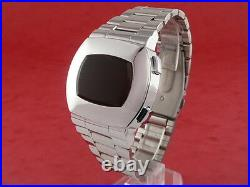 ASTRONAUT 70s 1970s Old Vintage Style LED LCD DIGITAL Retro Watch 12 24 hour S