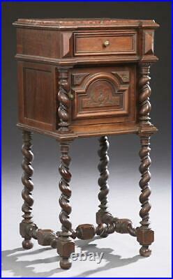 Antique Bedroom Set, Four-Piece Set, French Henri II Style. 1800s, Gorgeous