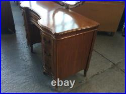 Antique Mt Airy Vanity with Mirror French Style