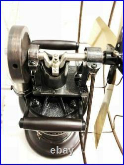 Antique Style Vintage STEAM Fan Working Model Old style table Kerosene Replica