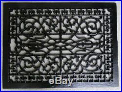 Big Rectangular Floor Grate Vent Replica Huge Solid Cast Iron Vintage Old Style