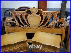 Carmel Colored Bedroom Set French Provincial Style Union Furniture Company