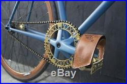 Custom 59cm mission bicycle fixed fixie track bike vintage style