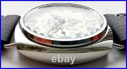 Custom Made Molnija 3601 -6 Converted Into Wrist Watch Luxury Panerai Style