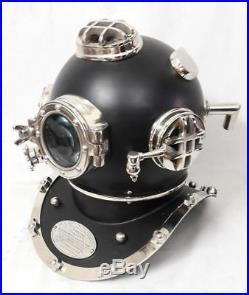 Divers Diving HELMET Scuba Style US Navy Mark V Full size Antique Vintage Gift