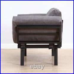 HOMCOM Modern Style Sofa Bed Futon Couch Sleeper Lounge Sleep Dorm Furniture
