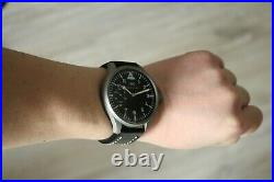 IWC Vintage 1918`s MILITARY PILOT STYLE A-DIAL New Cased Swiss Men`s Wrist Watch