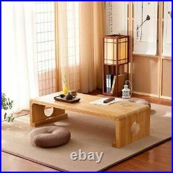 Japanese Vintage Indoor wood Furniture Asian Style Coffee Tea Living Room Low