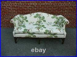 Kittinger Colonial Williamsburg Cw 23 Chippendale Style Mahogany Sofa