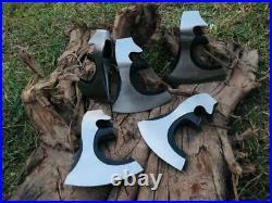 LOT Of 5 MDM Antique Style Axe Head Tomahawk Viking Axe Vintage Combat Axe Heads