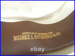 MINTY Vintage STETSON Twenty OPEN Road style SOVEREIGN western FEDORA Hat 7 1/4