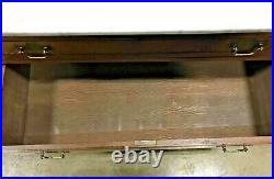 Marble Top Victorian Wooden Dresser Vintage Eastlake Style Furniture