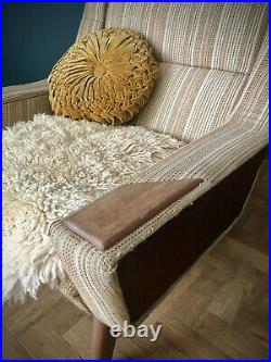 Mid Century Armchair Parker Knoll G Plan, Danish Style original Vintage
