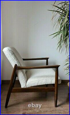 Mid Century Vintage Danish Style Armchair by E. Homa 60