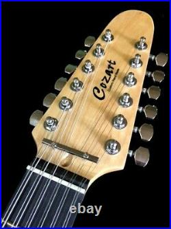 New 12 String Tl Style Natural Concert Solid Electric Guitar