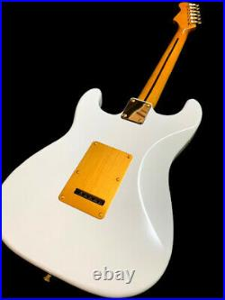New Gold Anodized Pickguard 6 String St Style Great Playing Electric Guitar