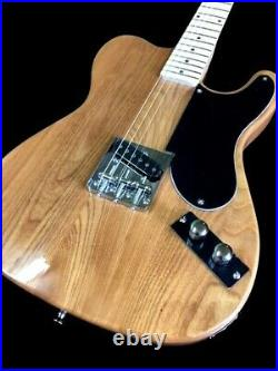 New Natural 6 String Esquire Vintage Style Custom Snakehead Electric Guitar