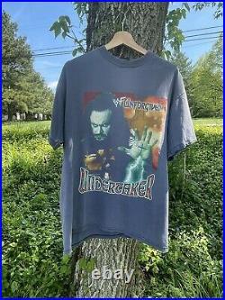 RARE Vintage 90s WWF Undertaker Unforgiven T Shirt Rap Tee Style Kane
