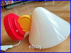RARE Vintage wall Lamp IKEA Memphis Style Ettore Sottsass Stoja 80's