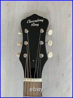 Recording King RPHR1TS National Style Resophonic Resonator Guitar Sunburst