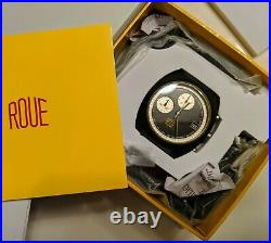 Roue CHR 2 Chrono Watch/70s racing vintage style watch with extra strap