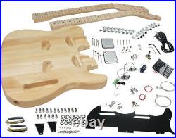 Solo TC Style Double Neck DIY Guitar Kit