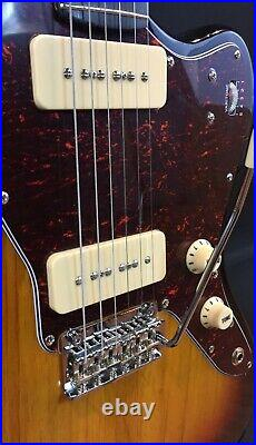 Tagima TW-61 Jazzmaster Style Electric Guitar Vintage Sunburst