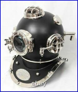 US Navy Mark V Full size Antique Vintage Divers Diving Helmet Scuba Style Gift