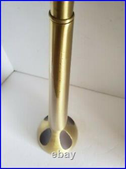 VTG Mid Century Modern Brass Tony Paul Westwood Style Tall Table Lamp 35