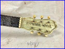 Vintage 1930's Kay Kraft Style C Acoustic Guitar Nick Lucas Stencil X Braced