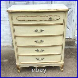 Vintage Dresser French Provincial Style Retro Sears Bonnet