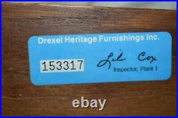 Vintage Drexel Heritage King Size French Style Tester Bed