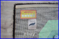 Vintage Mid Century Pop Art Rya Style Carpet Rug Desso Eames Colani Panton era
