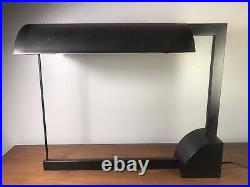 Vintage Post Modern Robert Sonneman George Kovacs Table Desk Lamp Memphis Style