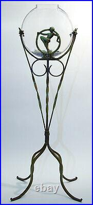 Vintage Style Canteen Fishbowl replacement for antique fish bowl stands 2 gallon