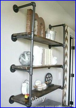 Vintage Style Shelf / Shelves / Bookcase Made Using Industrial Pipe Fittings