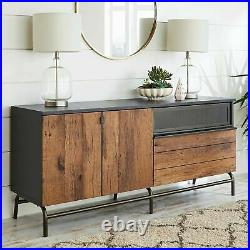 Vintage Style Sideboard 60 TV Credenza Media Stand Cabinet Rustic Retro Console