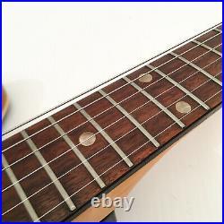 Vintage Teisco Style Electric Guitar MIJ Japan Tremolo Sunburst Hollowbody