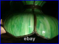 Vintage Tiffany Style Lamp Hanging Ceiling Chandelier Ceiling Light Fixture