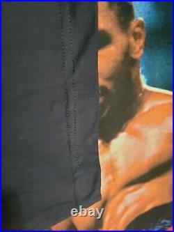 Vtg 90s Style Iron Mike Tyson Vintage Tee Tshirt Marino Morwood Rap All Over XL