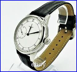 Watch Marriage 3601 Silver dial Dress WristWatch Mechanical Vintage Style USSR