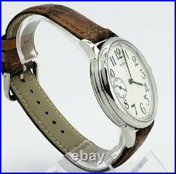 WristWatch Marriage ChK-6 3601 Dress Men's Watch mechanism USSR Vintage Style